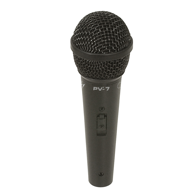 Peavey PV-7 Microphone with 16.4' XLR Cable