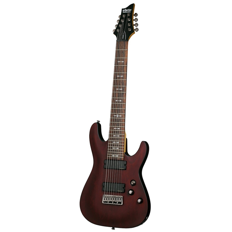 Schecter Omen-8 8-String Electric Guitar - Walnut Satin