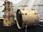 DW Drum Workshop Collector's Series Lacquer Custom 4-Piece Drum Kit - Natural
