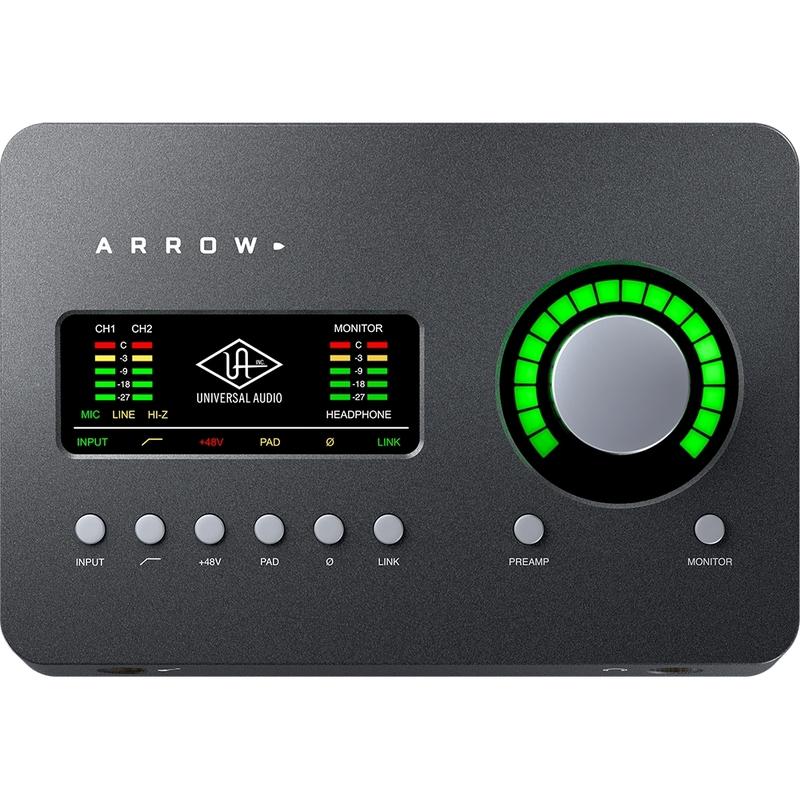 Universal Audio Arrow 2x4 Thunderbolt 3 Audio Interface with UAD DSP