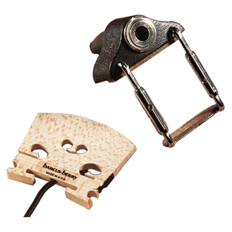 "Barcus Berry 1320 Piezo Transducer Wood Violin Pickup Bridge with 1/4"" Jack"
