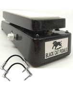 Black Cat Pedals Monster K-Fuzz Guitar Effects Pedal with Patch Cables