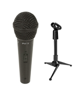 Peavey PV-7 Microphone with XLR Cable and Mini Tripod Stand