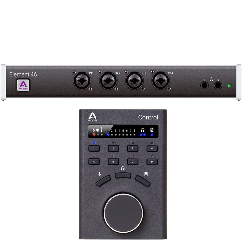 Apogee Element 46 12x14 Thunderbolt Audio Interface for Mac with Hardware Remote Control