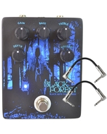 Black Arts Toneworks Black Forest Multi-Effects Guitar Pedal and Patch Cables