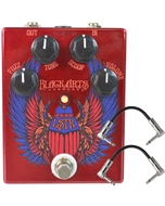 Black Arts Toneworks LSTR Fuzz Guitar Effects Pedal and Patch Cables