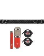 Behringer U-PHORIA UMC1820 USB 2.0 Audio/MIDI Interface with MXL Microphone Set and XLR Cables