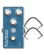 Bogner Amplification Harlow Boost with Bloom Guitar Effects Pedal with Patch Cables