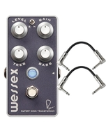 Bogner Amplification Wessex Overdrive Guitar Effects Pedal with Patch Cables
