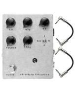 Fairfield Circuitry Four Eyes Crossover Fuzz Guitar Effects Pedal with Patch Cables