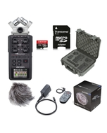 Zoom H6 Portable Handheld Recorder + SKB iSeries Protective Case + Accessory Pack