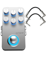 Hotone XTOMP Bluetooth Guitar Multi-Effects Pedal with Patch Cables