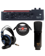 Focusrite iTrack Dock iPad Recording Interface with Microphone, Headphones, and Cable