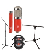 MXL 550/551 Condenser Microphone Kit with Mic Stands and Cables