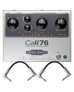 Origin Effects CALI76-TX-L Cali76 Transformer Lundahl Compressor Guitar Effects Pedal with Patch Cables