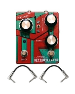 Paradox Defibrillator Fuzz Guitar Effects Pedal with Patch Cables