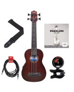 Kala U-BASS Rumbler Fretless Ukulele Bass Essentials Pack