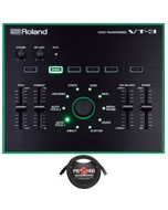 Roland AIRA VT-3 Voice Transformer Vocal Effects Processor with 10 ft Microphone Cable
