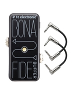 TC Electronic BonaFide Buffer Guitar Pedal with Patch Cables
