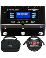 TC Helicon VoiceLive Play Acoustic Guitar/Vocal Effects Processor with Carry Case and 10' XLR Mic Cable