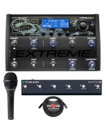 TC Helicon VoiceLive 3 Extreme Vocal & Guitar FX Processor with Switch 6, MP75 Mic, & Cable