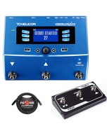 TC Helicon VoiceLive Play Effects Processor with Digitech FS3X Footswitch and Cable