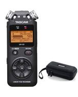 Tascam DR-05 Version 2 - Handheld PCM Portable Digital Recorder with Carry Case