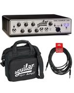 Aguilar Tone Hammer 500 Watt Superlight Bass Amplifier Head with Carrying Bag & Cable