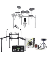 Yamaha DTX522K 5-Piece Electronic Drum Kit with Accessory Pack (Headphones, Sticks, Throne, and Pedal)