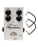 Darkglass Electronics Vintage Microtubes Bass Distortion Guitar Effects Pedal with patch Cables