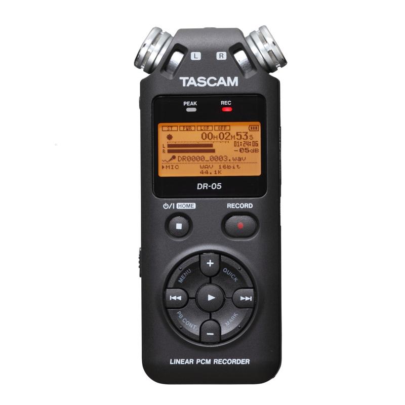 Tascam DR-05 Version 2 - Handheld PCM Portable Digital Recorder