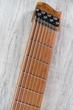 Strandberg Boden Standard 8 Guitar, 8-String, Roasted Maple Neck, Blue