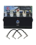 Eden CaliforniWAH Bass Filter Guitar Effects Pedal with Power Supply & Patch Cables