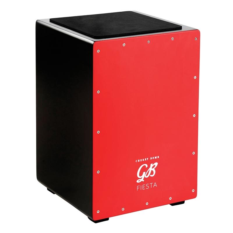 Gon Bops FSCJCB Fiesta Series Cajon, Cherry Bomb