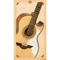 H. Jimenez LBQ2 El Musico Acoustic Bajo Quinto Guitar Mahogany Back and Sides with Gig Bag