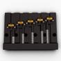 Hipshot 5K501B 5-String KickAss Bass Bridge, Classic Mount Pattern 1, Black