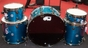 """DW Drum Workshop Collector's Series 5-Piece Maple Mahogany Kit - Lacquer Specialty Blue Anodize (13"""" Tom, 16/18"""" Floor Toms, 24"""" Kick, 6"""" x 14"""" Snare)"""