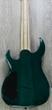 Legator Ninja R 200-SE Fanned Fret 8-String Electric Guitar - Teal Burl