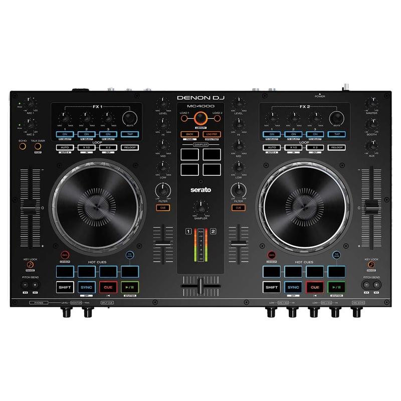 Denon MC4000 Professional 2-Channel DJ Controller for Serato