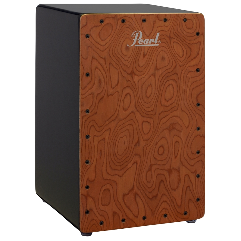 Pearl Drums Primero Figured Cherry MDF Cajon with Figured Cherry Faceplate
