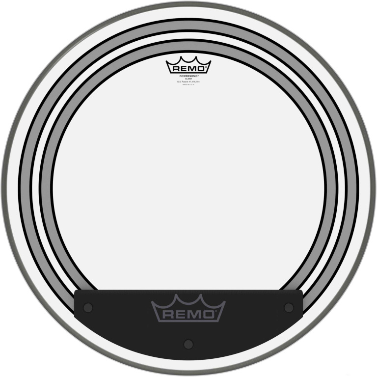 """20"""" Powersonic Clear Bass Drum Head with internal subsonic dampening rings"""