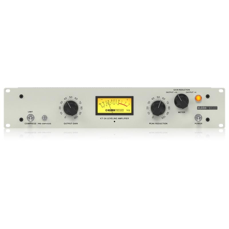 Klark Teknik KT-2A Single Channel Leveling Amplifier and Optical Compressor